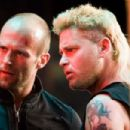 Jason Statham (left, as Chev Chelios) and Corey Haim (right, as Randy) star in CRANK HIGH VOLTAGE. Photo credit: Justin Lubin.