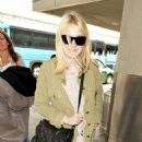 Dakota Fanning was spotted arriving at LAX today, May 17.