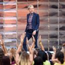 """The Ellen Degeneres Show"" Season 13 Bi-Coastal Premiere at Rockefeller Center on September 8, 2015 in New York City"