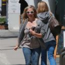 Sarah Michelle Gellar – Leaving a hair salon in Brentwood