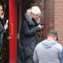 Cara Delevingne – On the set of 'Life in a Year' in Toronto