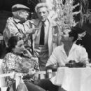 Luis Miguel Dominguin with Picasso and his wife Jacqueline and Jean Cocteau - 454 x 275