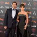 Penelope Cruz and Javier Bardem- Goya Cinema Awards 2016 - 399 x 600