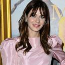 Zooey Deschanel – In Pink Short dress at 'Emma' premiere in Los Angeles - 454 x 681