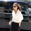 Victoria Beckham – Leaves her hotel in Paris - 454 x 782