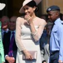 Meghan Markle – Garden party at Buckingham Palace in London