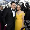 Jon M. Chu and Constance Wu At The 91st Annual Academy Awards - Arrivals