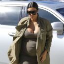 Kim Kardashian Leaving A Ballet Class In Woodland Hills