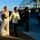 Ana Beatriz Barros and Karim El Chiaty- wedding ceremony in Mykonos, Greece - 454 x 303