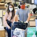 Lily Collins – Shopping at Whole Foods Market in West Hollywood