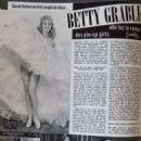 Betty Grable - Cine Tele Revue Magazine Pictorial [France] (23 December 1965) - 454 x 609