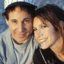 Carrie Fisher and Paul Simon - 454 x 667