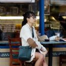 Jordana Brewster – Out for breakfast in Pacific Palisades