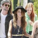 Shenae Grimes - @ the Melrose Place Farmers Market (8/30/09