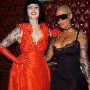 Amber Rose attends the Kat Von D Beauty Fragrance Launch Press Party #SAINTANDSINNER at Hollywood Roosevelt Hotel in Hollywood, California - June 20, 2017 - 454 x 610