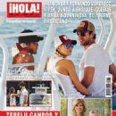 Fernando Verdasco, Ana Boyer, Anna Kournikova, Enrique Iglesias - Hola! Magazine Cover [Spain] (1 April 2015)
