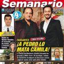 Julio Chávez, Benjamín Vicuña, Farsantes - Semanario Magazine Cover [Argentina] (16 January 2014)