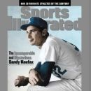 Sandy Koufax - Sports Illustrated Magazine Cover [United States] (12 July 1999)
