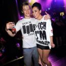 Lucas Till was spotted at Gallery Nightclub, August 13, at Planet Hollywood in Las Vegas