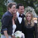 Aaron Paul and Lauren Parsekian Wedding Photos - 454 x 454