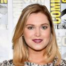 "Actress Eliza Taylor at ""The 100"" Press Line during Comic-Con International 2017 at Hilton Bayfront on July 21, 2017 in San Diego, California"