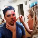 Joshua Ovenshire and Katherine Bow (Makeup Artist)