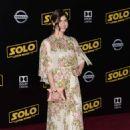 Alexandra Daddario – 'Solo: A Star Wars Story' Premiere in Los Angeles - 454 x 691
