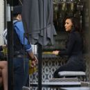 Naya Rivera is spotted filming a unknown show in West Hollywood, California on January 24, 2017 - 454 x 359