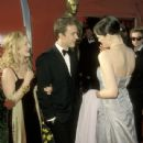 Drew Barrymore, Edward Norton and Liv Tyler At The 71st Annual Academy Awards (1999) - Arrivals
