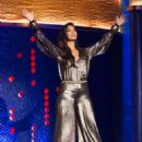 Nicole Scherzinger – The Jonathan Ross Show in London - 454 x 687