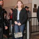 Iskra Lawrence – Seen while leaving the TRL Studios in NY