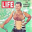 Ted Kennedy on Life Magazine - 412 x 480