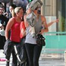 Charlize Theron Getting In A Workout At Soulcyle