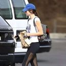 Kendall Jenner In Leggings Out and About In Los Angeles