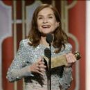 Isabelle Huppert At The 74th Golden Globe Awards - The Show (2017) - 454 x 389
