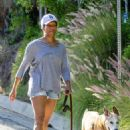 Regina King – Takes her dog out for a walk in Los Angeles - 454 x 681