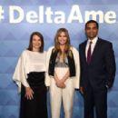 Elizabeth Olsen – #DeltaAmex Card Relaunch in NYC