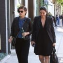 Kate Mara is spotted out and about with a friend in Los Angeles on March 31, 2016 - 439 x 600