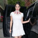 Nikki And Brie Bella Arrives – Seen at The Chew In New York - 454 x 581