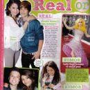 Justin & Selena - Bop Magazine Scans, May 2010
