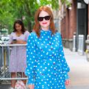 Julianne Moore – Arrives at Kelly And Ryan show in New York City - 454 x 527