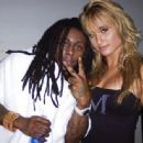 Montana Tucker with Lil Wayne when she performed with him