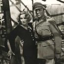 Marlene Dietrich and Clive Brook