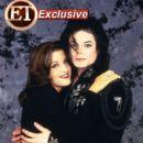 Michael Jackson and wife Lisa Marie Jackson - 400 x 534