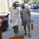 Bergüzar Korel out and about in Çeşme, Izmir (August 03, 2015)