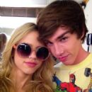 Halston Sage and Noah Crawford