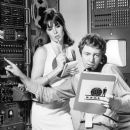 Stefanie Powers and Noel Harrison - 390 x 488