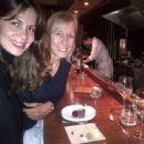 Julia Lemigova and Martina Navratilova