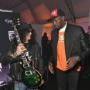 Gibson Rocks Opening of CES 2018 With Slash - 454 x 570