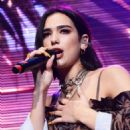 Dua Lipa – Performs at the KTU Concert in NY - 454 x 653